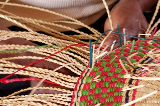 Weaving complex patterns takes time.