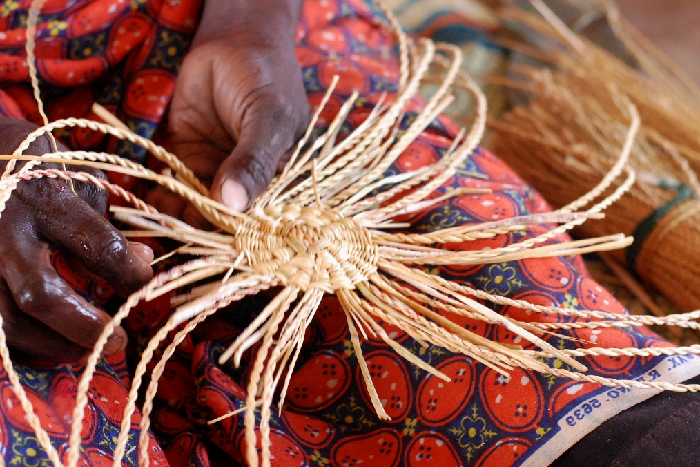 Basket Weaving Process : Weaving lost opportunities foundation