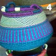 4 - turquoise and purple -