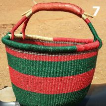7 - red and green -