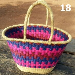 18 - pink red and blue -