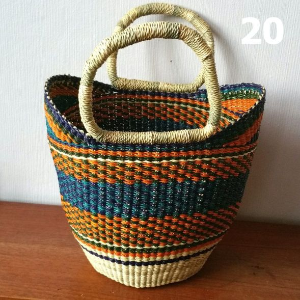 20 - orange and blue -