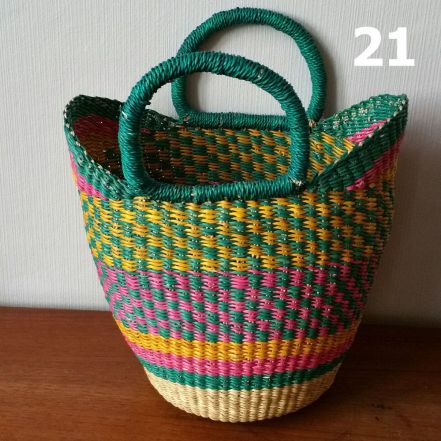 21 - yellow pink and green-blue -