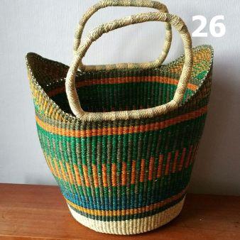 26 - orange green and blue -