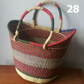 28 - red and olive -