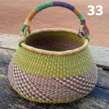 33 - orange green and purple -