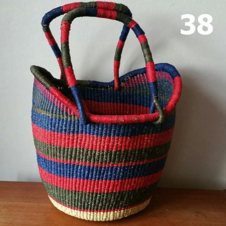 38 - red blue and black -