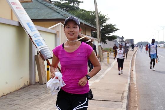 Etsuko Ito Accra Millenium Marathon